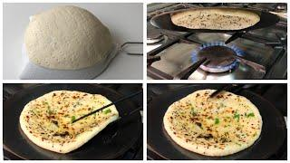 Tawa Naan - The Perfect Garlic Butter Naan Without  kneading dough, Without Tandoor &  Oven
