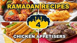4 Chicken Ramadan Recipes • Fried Iftar Recipes • Ramzan Starters/Appetizer • Tasty Chicken Recipes