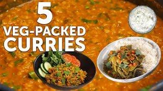 5 DELICIOUS CURRY RECIPES!