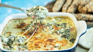Spanakopita Dip: A Cheesy & Juicy Greek Appetizer