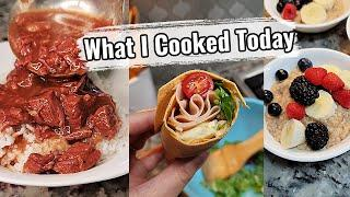 Quick & Simple Recipes | EASY Instant Pot Beef Tips And Gravy | Breakfast Lunch & Dinner Ideas