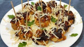 Stuffed mushroom/stater/mushroom recipe/party snacks