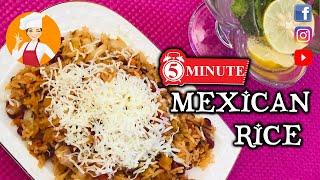 Mexican Rice Recipe | One Pot Meal | Easy Mexican Rice | Veg Rice Recipe - Indian Vegetarian Recipe