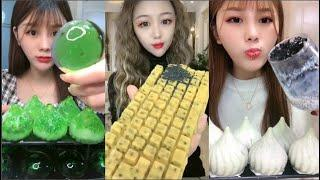 Eat ice cold ice food ASMR Relax eating sound #236