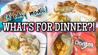 What's For Dinner? | Easy Weeknight Dinners | Family Meals of the Week | Easy Dinner Ideas