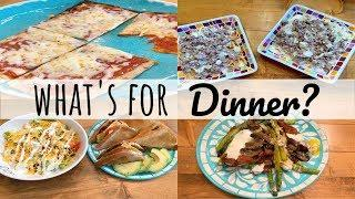 WHAT'S FOR DINNER  | QUICK AND EASY MEALS | KETO MEALS | LIVING IN THE MOM LANE