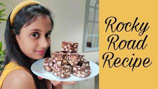 Best ROCKY ROAD Recipe | How to make Easy & Quick Rocky Road | Hasini Epic | Lockdown kids Recipes