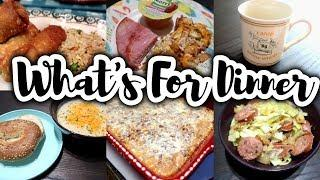 WHAT'S FOR DINNER || TONS OF MEALS PLUS DESSERT AND COCKTAILS