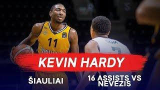 Kevin Hardy with 16 Assists for BC Šiauliai