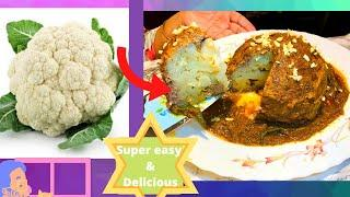 Mouth  Watering Roasted Cauliflower Recipe | super healthy | One of the best recipe | English |