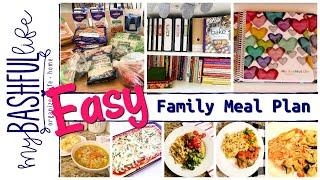 EASY Family Meal Plan Tips You'll Use!
