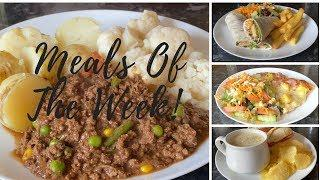 What's for tea this week? Meals of the week 8th-14th of June :)