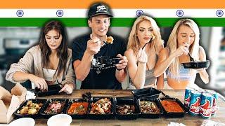 Americans Try Indian Food For First Time (Food Review)