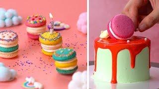 How To Make Fancy Macarons Cake Decorating | Perfect Cake Decorating Ideas | Yummy Cake Recipes