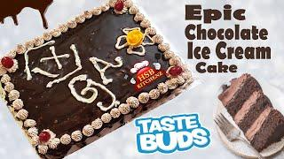 Epic Chocolate Ice Cream Cake Recipe | Easy 5 Layer Ice Cream Chocolate Cake | 2 kg Ice Cream Cake