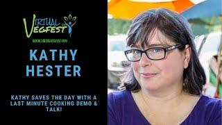 Virtual Vegfest Live with Kathy Hester!