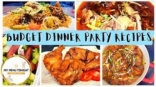 best budget dinner party recipes for special guests my menu tonight | quick lunch recipes ideas