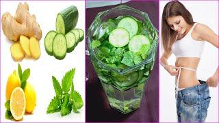These Detox Drinks Are The Secret To Fast And Easy Weight Loss - Flat Belly Water Recipe