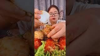 #Shots Video Seafood mukbang ASMR | Asian Food ASMR | ASMR  Show Eating by #VshareKH #168