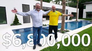 Inside a $6.8 Million LUXURY MANSION in Miami!! 10,226 SQFT Home in North Pinecrest | Florida