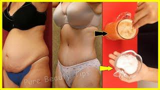 Drink one cup before breakfast for 7 days and your belly fat will melt completely!