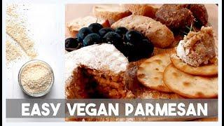 Easy Vegan Parmesan (New and Improved) / Best Vegan Cheese Recipes
