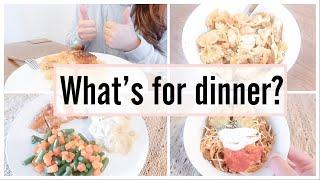 WHAT'S FOR DINNER? | EASY DINNER MEAL IDEAS | SIMPLE MEALS