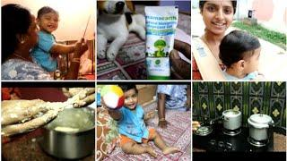 தமிழில்-EVENING ROUTINE VLOG | Play time, Cooking, Dinner|Mom Son Vlog