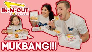 Family IN-N-OUT Mukbang + Vlog!!! | The Peña Fam
