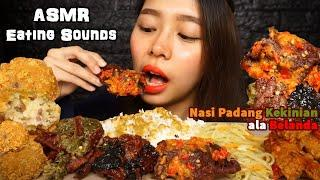 ASMR (Bukan) NASI PADANG (Biasa) Ala Belanda (Indonesian Food) | Eating Sounds | No Talking