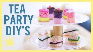 PLAY | 5 EPIC TEA PARTY CRAFTS!