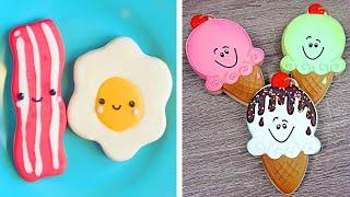 10 Cute and Creative Cookies Decorating Ideas For Your Family | Yummy Colorful Cookies Recipe