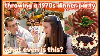 I threw a 1970s Dinner Party for my family