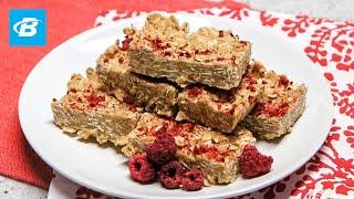 No Bake Peanut Butter Protein Bars | Quick Healthy Recipes