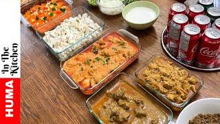 Dawat Preparation and VLOG - Party Ideas with Tips by (HUMA IN THE KITCHEN)