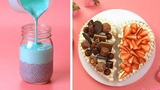 Easy Dessert Recipes | 15+ Awesome DIY Homemade Recipe Ideas For A Weekend Party | Cake Junkies