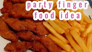party food ideas/quick and easy finger food ideas for party/nuggets#ytshorts  #youtubeshorts #shorts