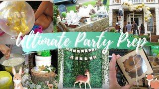 FOREST FRIENDS THEMED BABY SHOWER 2020  |  ULTIMATE PARTY PREP  | PARTY DURING A PANDEMIC