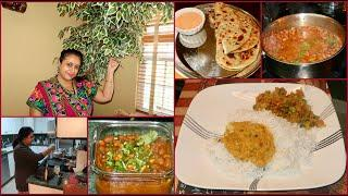 Tuesday Morning To Lunch Routine | Prepared Indian Breakfast , Lunchbox & Lunch For Family