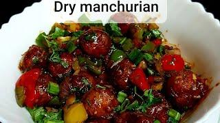 Vegetables dry Manchurian recipe | Malti's kitchen | Party snacks | Super tasty n yummy |