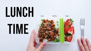 Vegan Lunch Ideas for School/Work (no need to reheat)