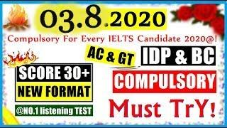 NEW IELTS LISTENING PRACTICE TEST 2020 WITH ANSWERS | LATEST IELTS LISTENING TEST 2020