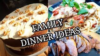 WEEK OF FAMILY DINNER IDEAS INCLUDING MARRY ME CHICKEN ~ #78