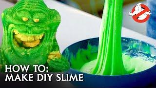 GHOSTBUSTERS - How To Make Your Own Slime!