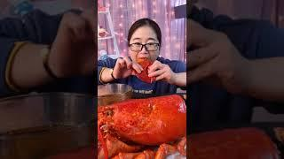 #Shots Video Seafood mukbang ASMR | Asian Food ASMR | ASMR  Show Eating by #VshareKH #175
