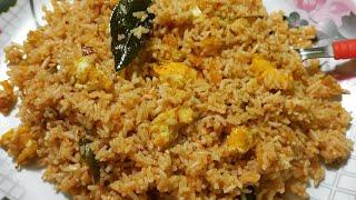 Egg Fried Rice/ Street Style Egg Fried Rice/ Breakfast Recipe Spicy Egg Rice Recipe