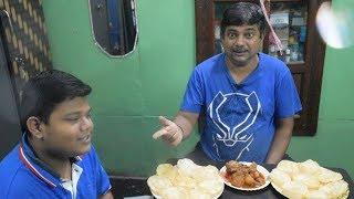 Eating Challenge Video with Recipe (my style Karahi Chicken with Luchi) - Bengali Foodlover
