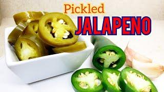 HOW TO PICKLE JALAPEÑO IN 10 MINUTES | IN ENGLISH