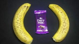 3 minute tasty and easy evening snack with banana and dairy milk | Quick & Simple Recipe | New Snack