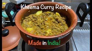 Indian Kheema Recipe | Curried Mince Meat | Curried Soya Mince | Authentic Indian Curry Recipe